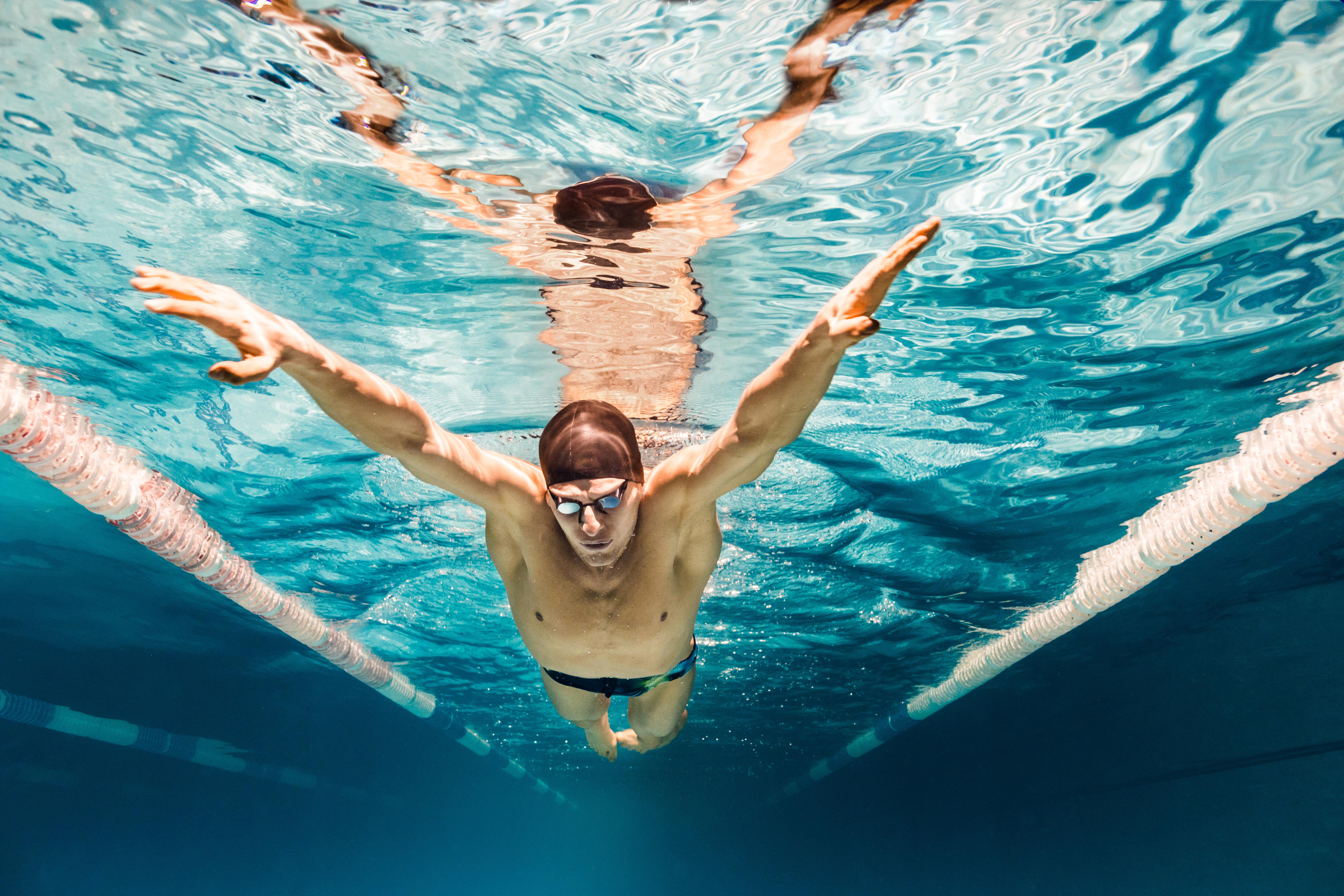 juiste ligging in het water tijdens zwemmen