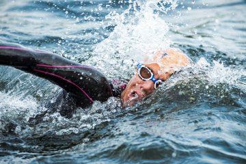 Wetsuit zwemmen triathlon koud water