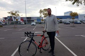 Edwin en zijn fiets