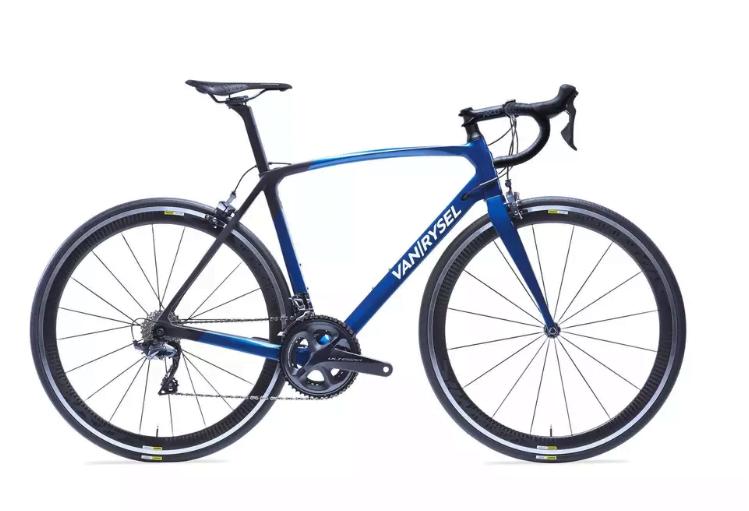Carbon fiets decathlon