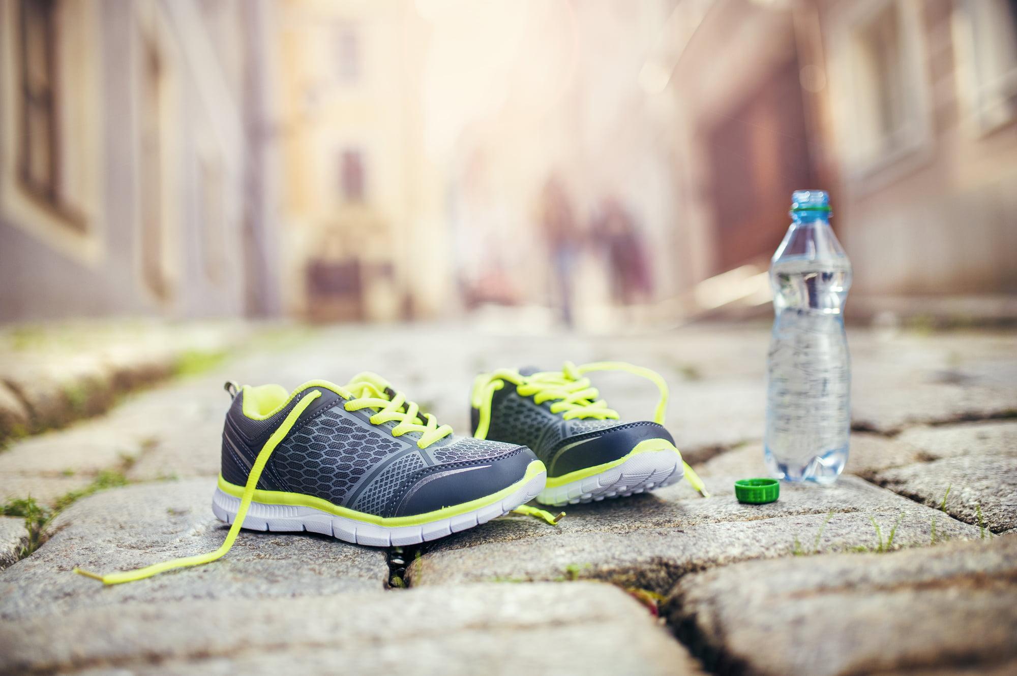 Water tijdens hardlopen meenemen