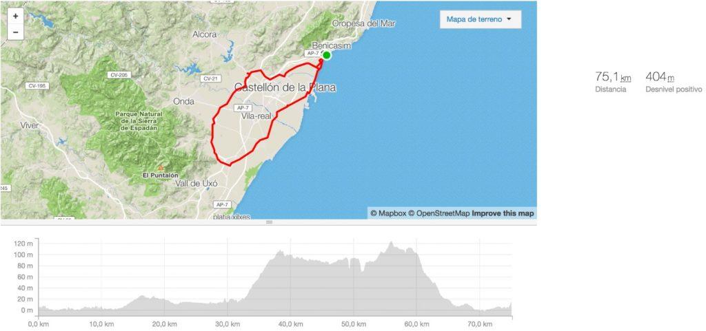 fietsroute dag 1 half