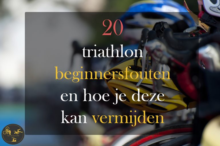 Triathlon fouten beginners