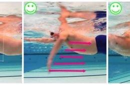 Doorhalen zwemmen