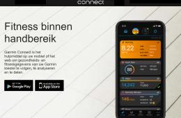 Garmin Connect gezondheidsstatistieken