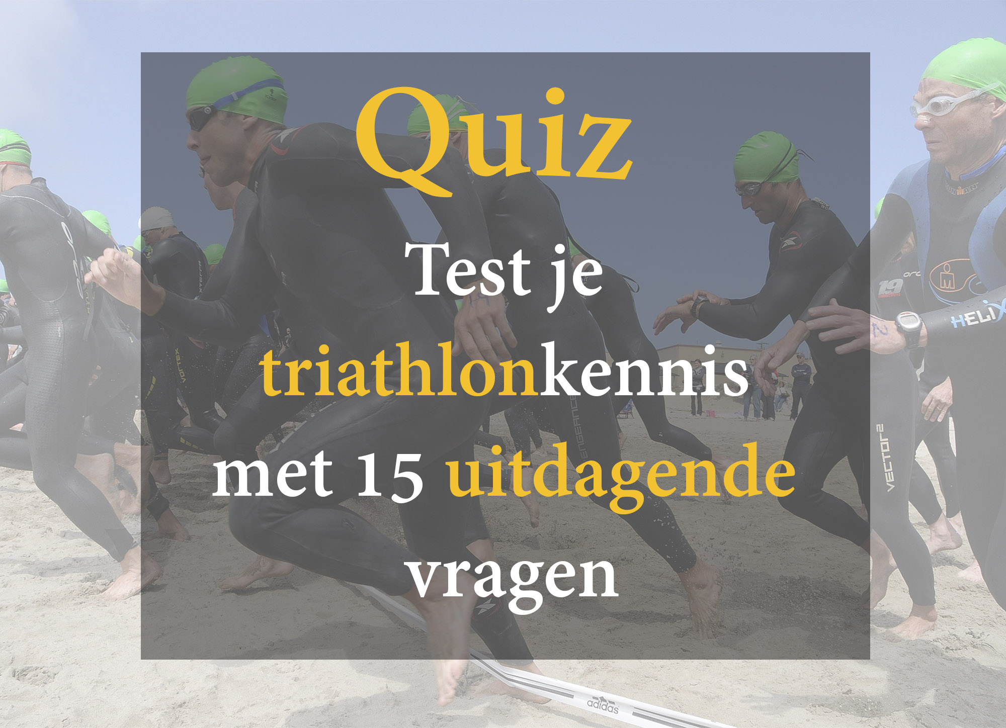 Triathlon Quiz
