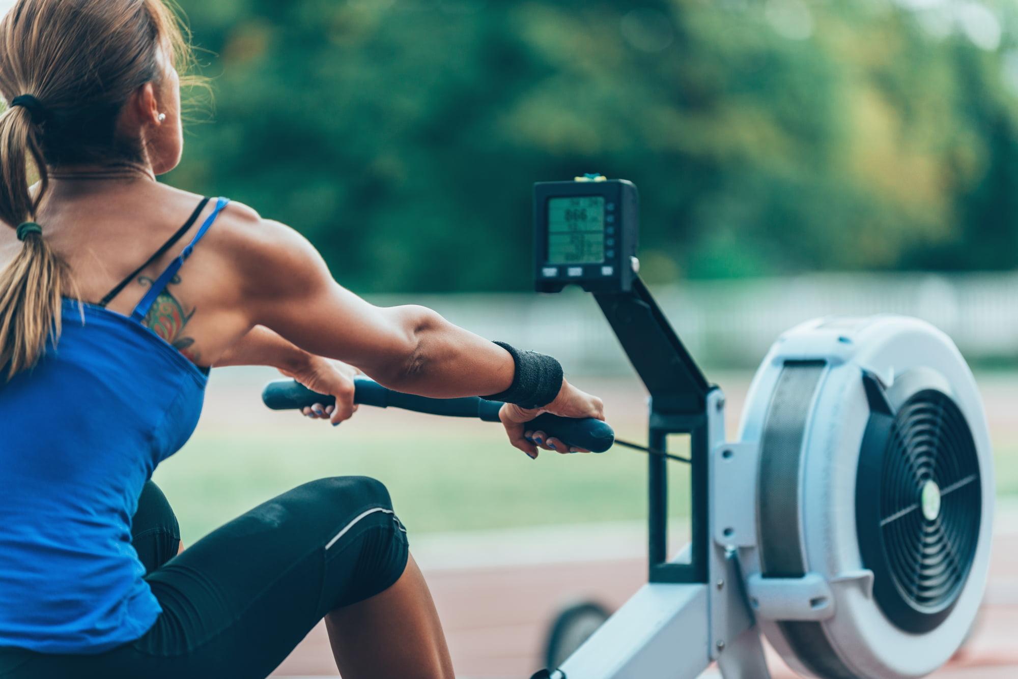 roeiapparaat alternatieve trainingen voor triatleten