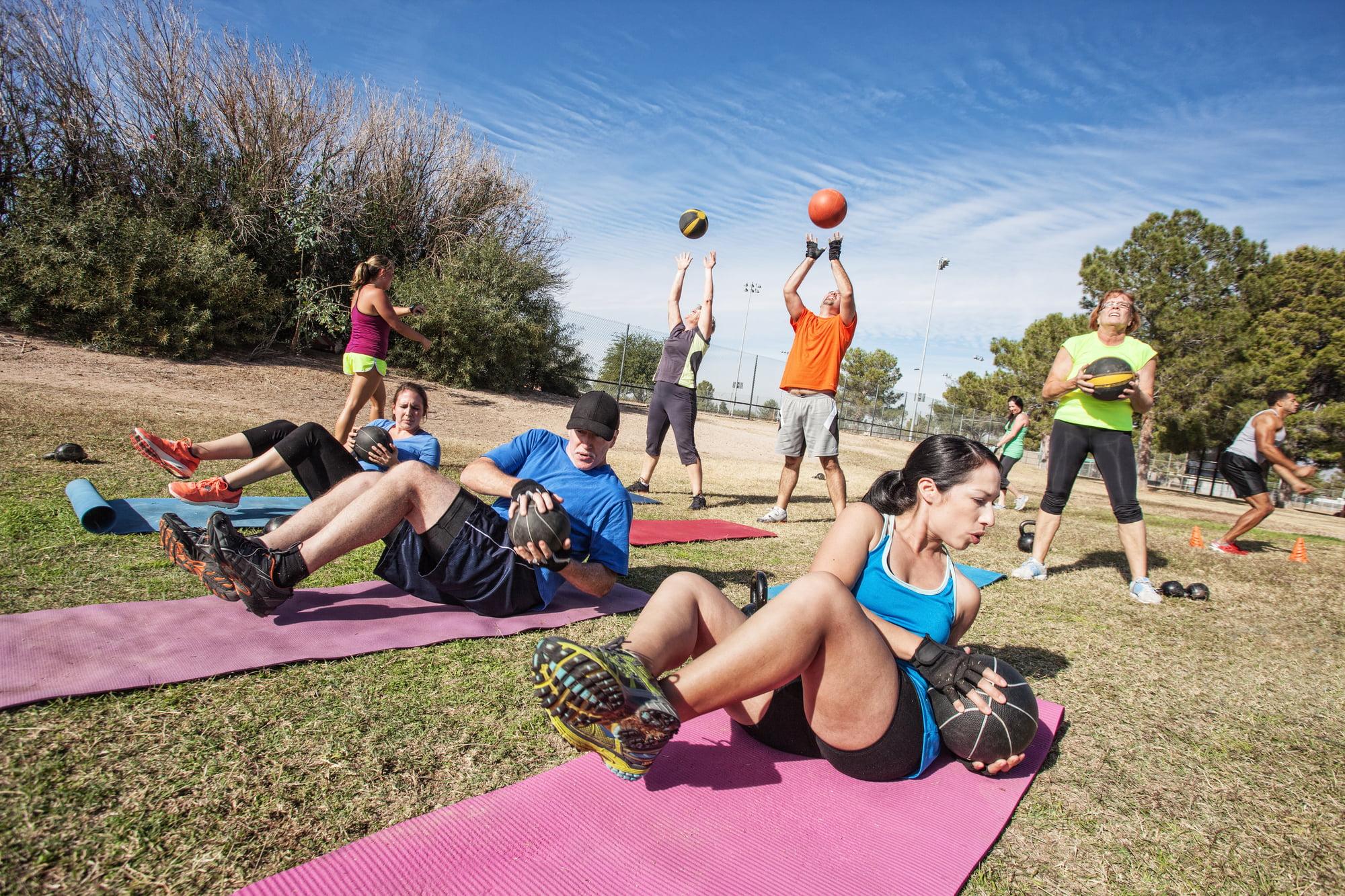 bootcamp alternatieve trainingen voor triatleten