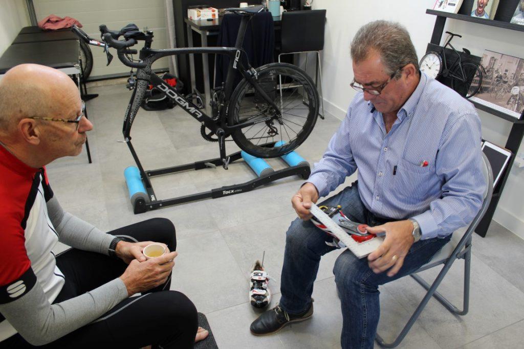 fietsmeting schoenplaatjes