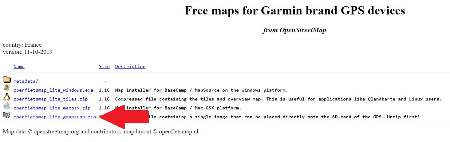 Kaarten downloaden gmapsupp