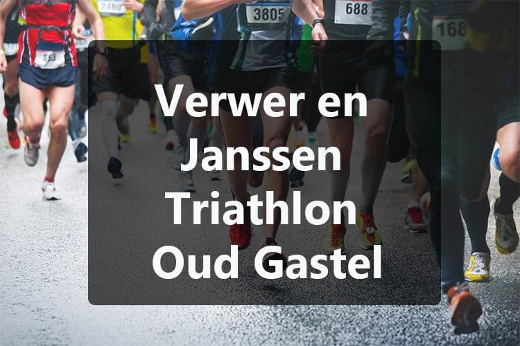 Verwer en Janssen triathlon Oud Gastel