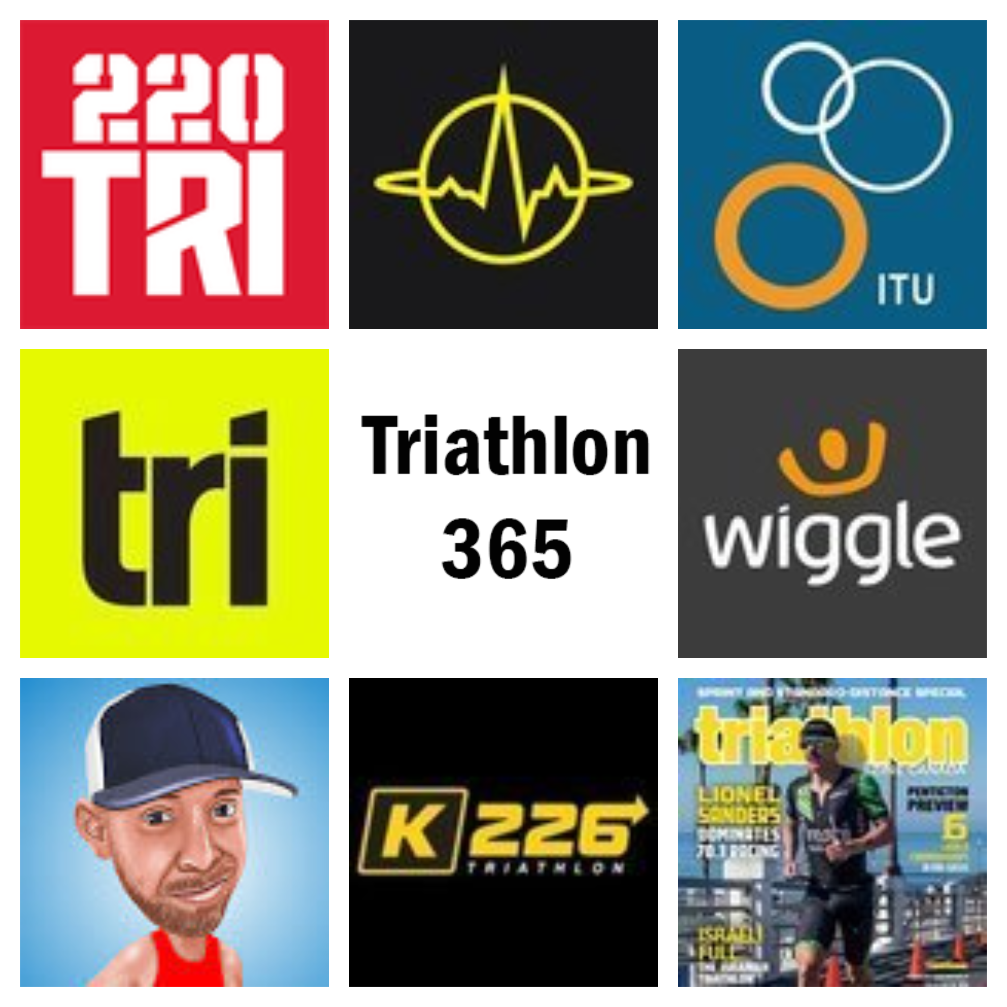 Triathlon websites Engels