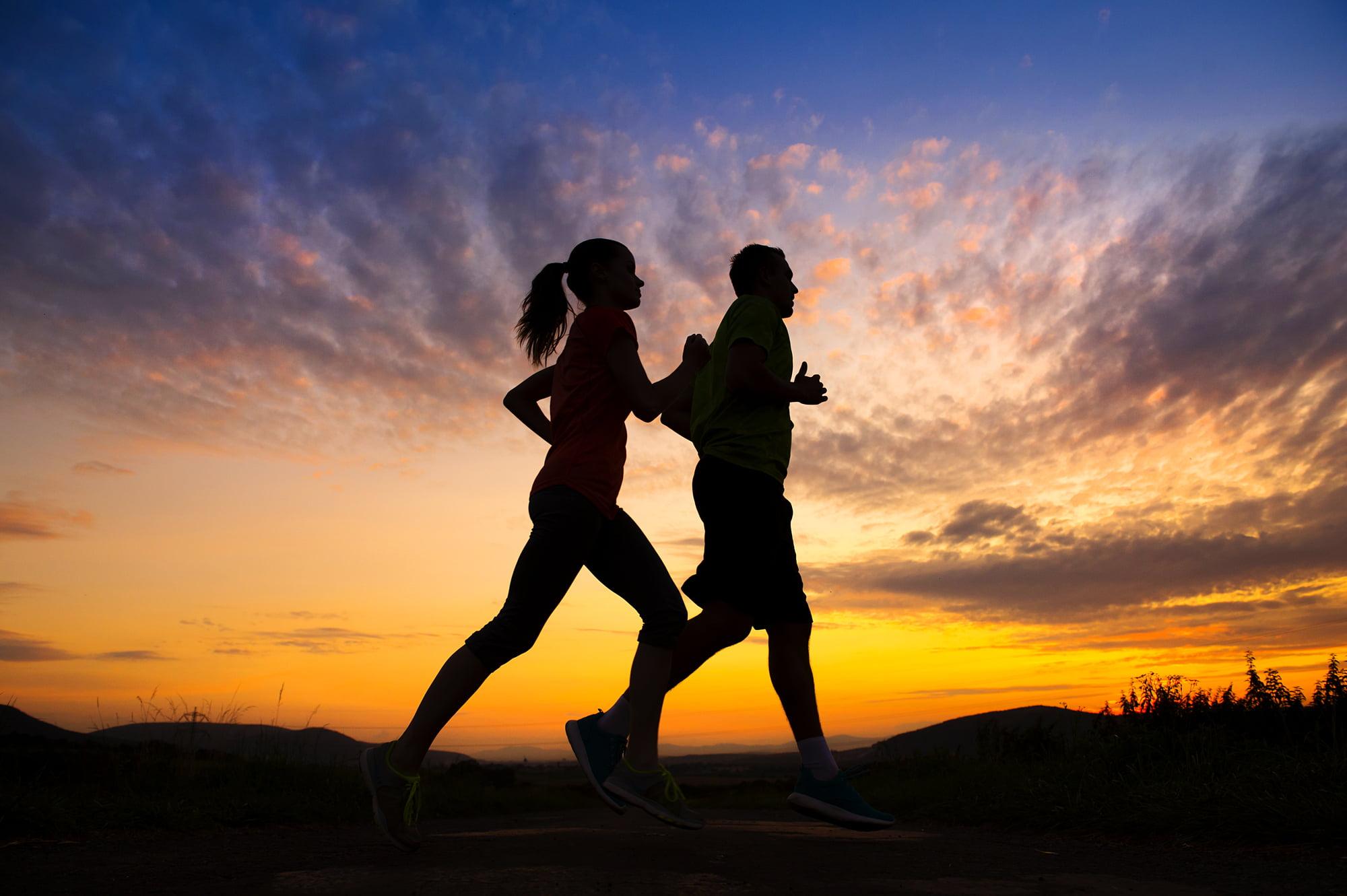 beginnen of opbouwen van langere afstanden hardlopen