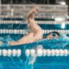 navigeren en vooruit kijken tijdens het zwemmen
