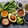 Gezonde voeding gezonde producten