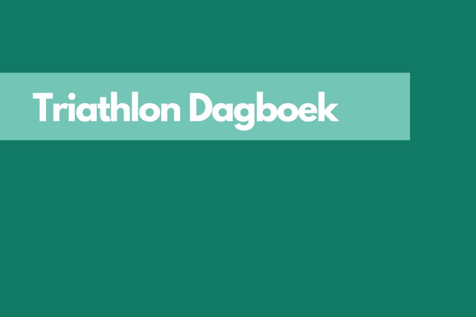 Triathlon Dagboek