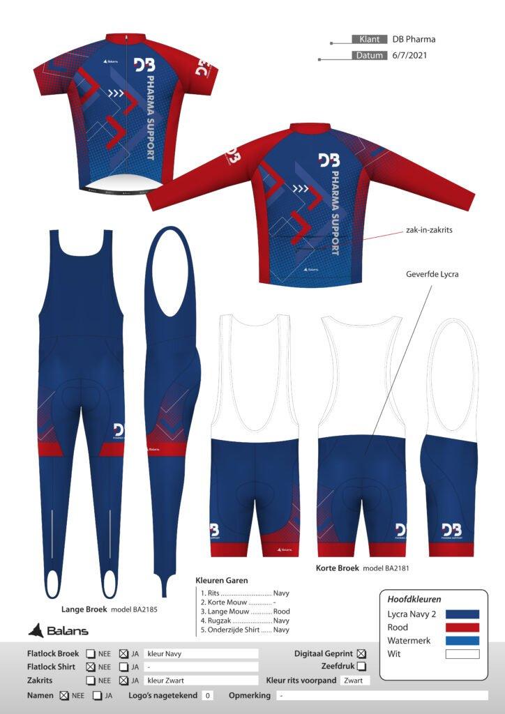 sportkleding ontwerpen